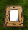lake sunapee, rustic mirror, birch bark frames