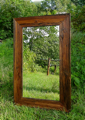 barn wood mirror, rustic mirror, rustic wall decor