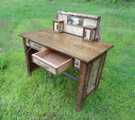 rustic desk, Adirondack rustic furniture