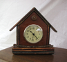 rustic clock, table clock, Adirondack clock,